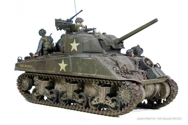 sherman normandie 1